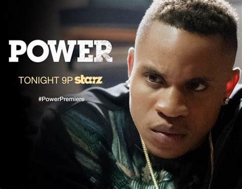 rotimi power tv show videowheelstv america rap star 50cent signs us born