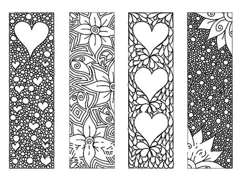 Jepitan Sirkam Color Bowknot Shape Simple Design 1 of flower bookmarks coloring pages best place to color