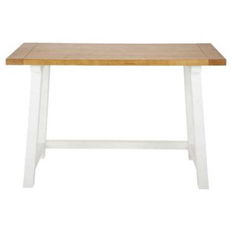 Buy Portobello Trestle Desk White Pine From Our Office Trestle Desk White