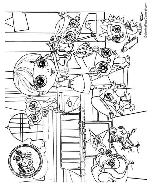 littlest petshop coloring pages littlest pet shop