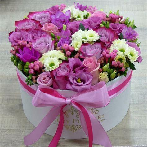 Flower Hat hat box flower arrangement