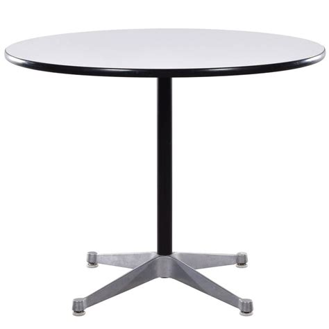 Contract Dining Tables Eames Small Dining Table With Contract Base For Herman Miller For Sale At 1stdibs