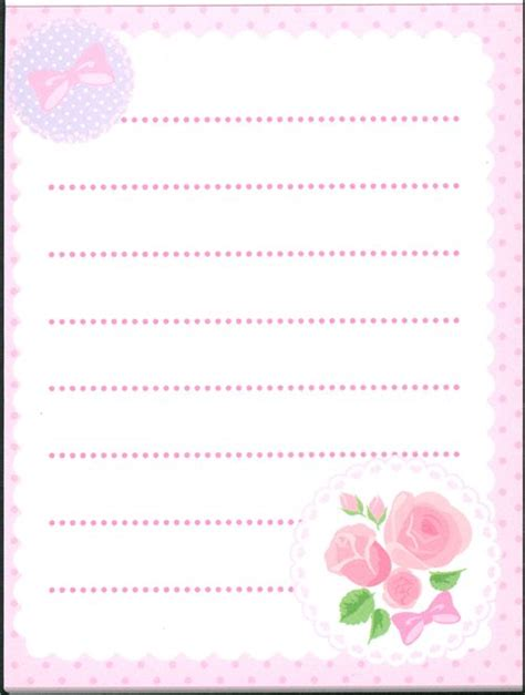 Memopad Nota Mini Nota Burger pink roses mini memo pad ribbons dots memo pads stationery shop modes4u