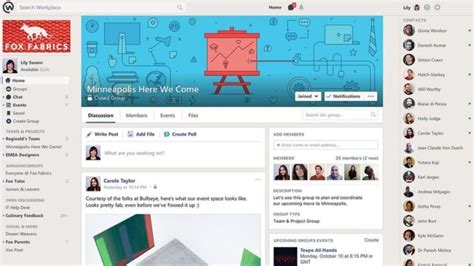 facebook questions officially launches facebook officially launches workplace tech news and