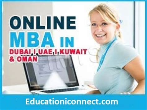 Mba Cost In Uae by Distance Education Learning Mba In Dubai Uae