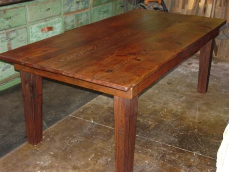 Handmade Farm Tables - exclusive handmade antique farm tables