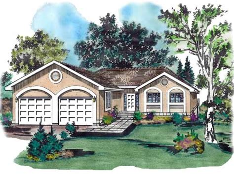 Southwest Style Home Plans by Southwest Style House Plans 1229 Square Foot Home 1
