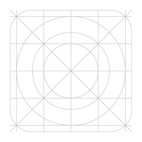 ipad grid template ios7 grid system icon template free vector site