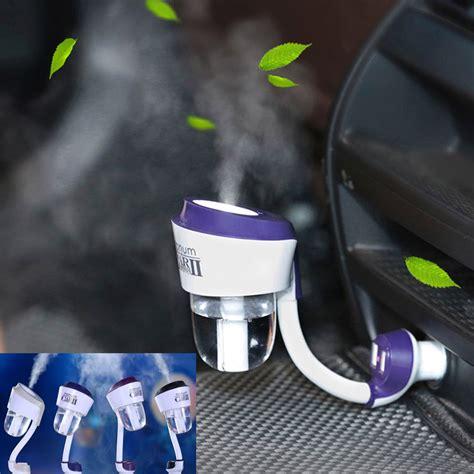 Nanum Usb Bamboo 7 Colors Led Car Humidifier Diffuser 130ml nanum ii new 12v ii car steam humidifier with 2pc car