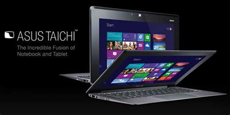 Asus A55vm Sx187d I5 Dual Vga harga jual asus taichi 21 dual screen ultrabook i7