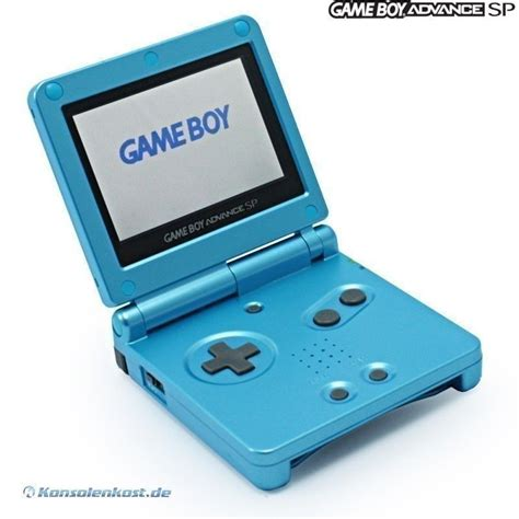 Gameboy Advance Sp By Kenz Shop gameboy advance console gba sp surf blue ags 101 incl
