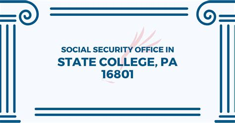Social Security Office Pa by Social Security Office State College Pa Kutztown U