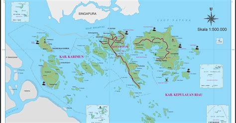 peta kota peta provinsi kepulauan riau hd