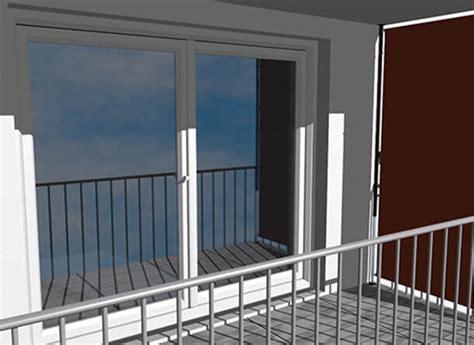 markisen paradies gutschein balkon sichtschutz design uni orange dralon