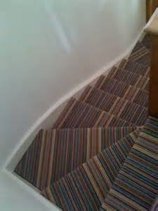 Stairs Striped Carpet by 8 Best Images About Striped Stairways With A Turn On