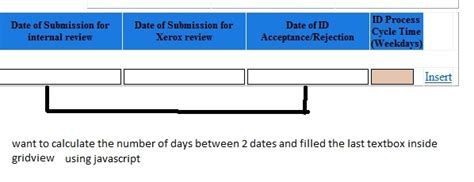calculator number of days excel formula number of days between two dates inclusive