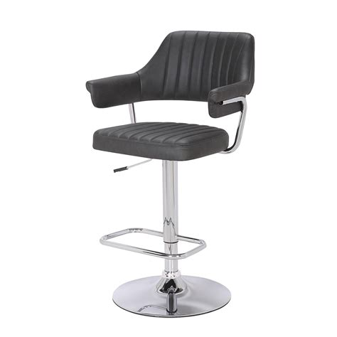 belmont grey bar stool home store