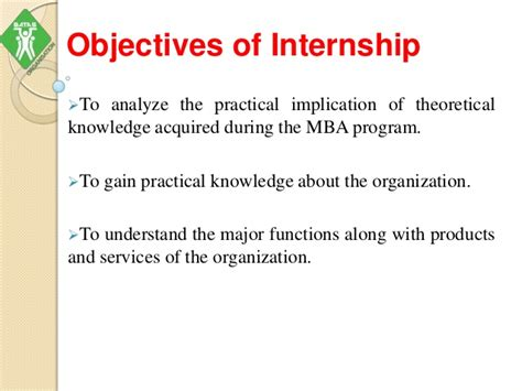 What Is An Mba Internship by Mba Internship Ppt