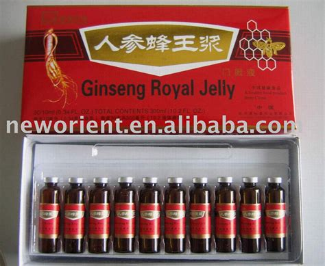 Royal Jeli Ginseng halal ginseng royal jelly products china halal ginseng royal jelly supplier