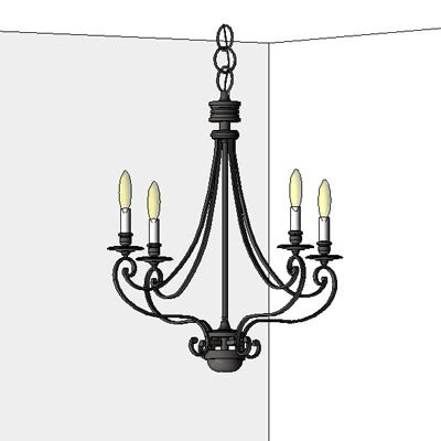 Chandelier Revit Family Feiss Chandeliers Ceiling Wall Mounted Table L 3d Model Formfonts 3d Models Textures