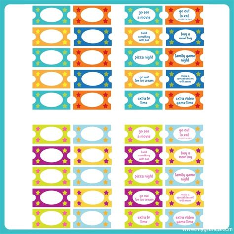 printable tickets for good behavior 10 best images of good behavior tickets template tickets