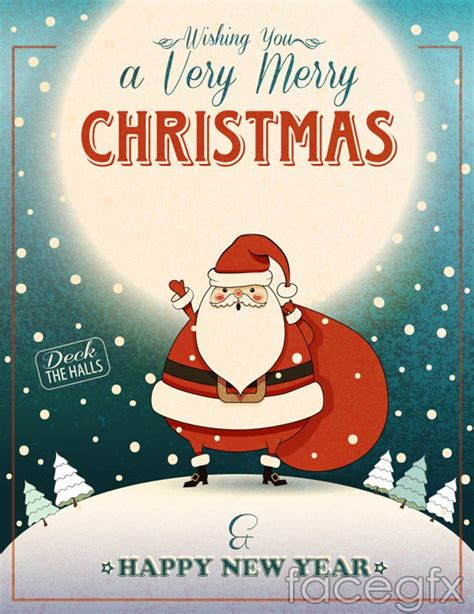 printable santa poster santa claus poster vector over millions vectors stock