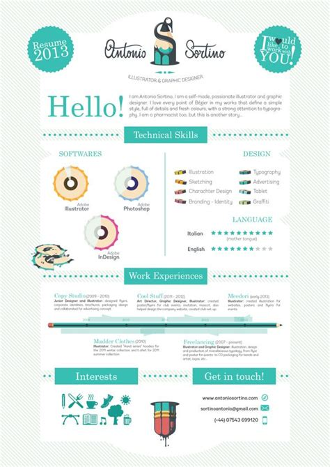 cool resume ideas best 25 cool resumes ideas on curriculum