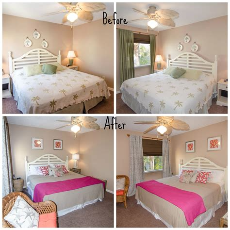 before and after bedrooms before after master bedroom at the beach with kris