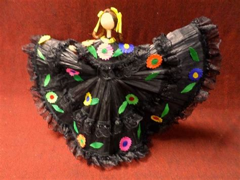 corn husk folklorico dolls 17 best images about s central american dolls we on