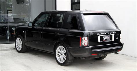 land rover hse 2012 2012 land rover range rover hse luxury package stock