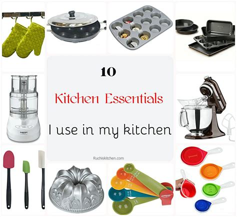 basic kitchen essentials kitchen essentials