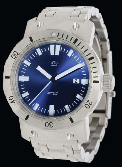 blue dive watches uts 4000m pacific horizon blue dive