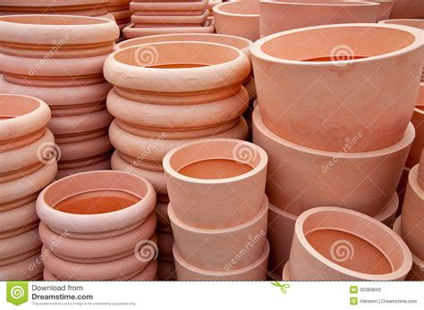 pots for sale pots for sale stock photography image 30389842