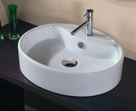 Oval Kitchen Sink Types Of Bathroom Vanities