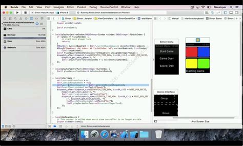 tutorial xcode game udemy create an apple watch game with xcode and watchkit
