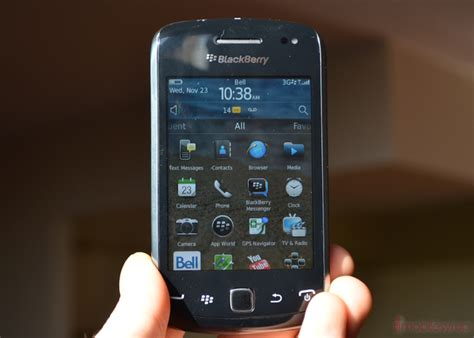 Hp Blackberry Curve 9380 blackberry curve 9380 review mobilesyrup
