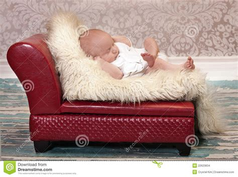 baby on couch baby couch potato stock images image 22623834