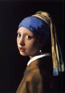 vermeer pearl earrings with a pearl earring