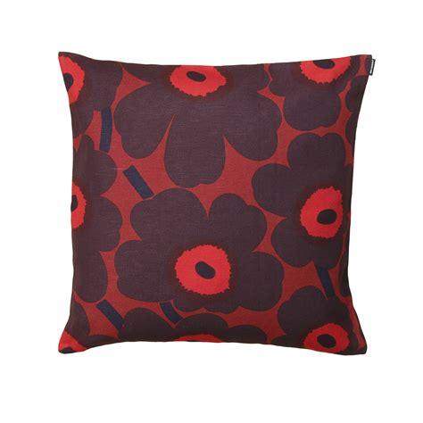 Marimekko Pillows Sale by Marimekko Pieni Unikko Plum Throw Pillow Marimekko