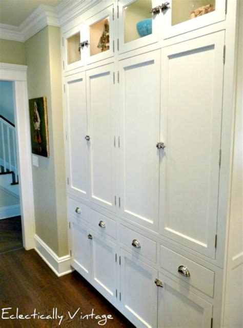 kitchen wall pantry cabinet savvy southern style my favorite room eclectically vintage