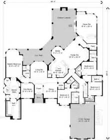 Square Bathroom Floor Plans European Style House Plans 5800 Square Foot Home 1
