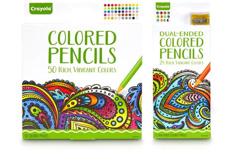 coloring books for adults crayola crayola now has its own line of coloring books for adults