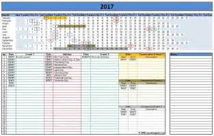Ms Office Calendar Template by Ms Office Calendar Template 2017 Printable Calendar