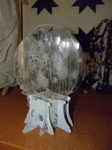pop up snow globe card template 15 best images about snowglobe card on