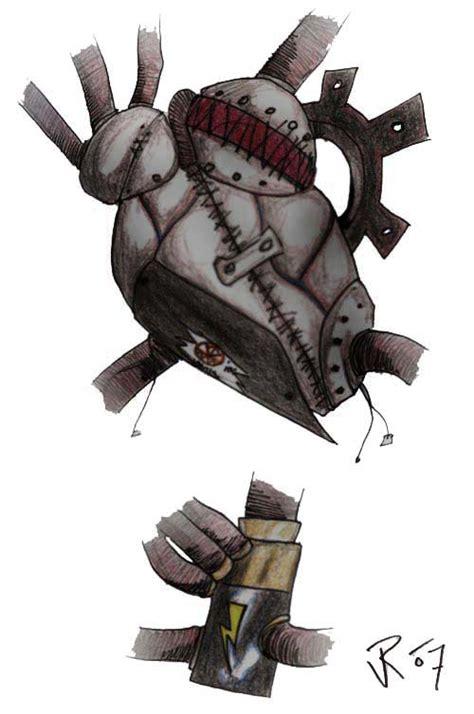 mechanical heart tattoo designs mechanical design by riverd on deviantart