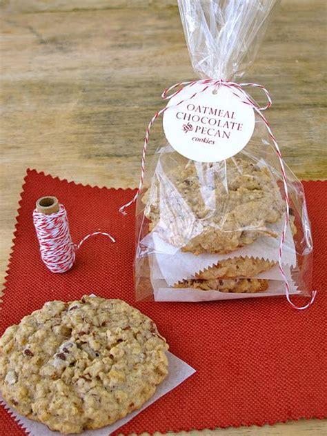 Plastik Cookies Plastik Cake Fancy Plastik Packaging P 035 out gift oatmeal chocolate pecan cookies attach