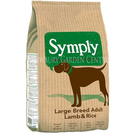 food with glucosamine symply rice large breed food with glucosamine