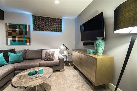 15 Amazing Midcentury Basement Design