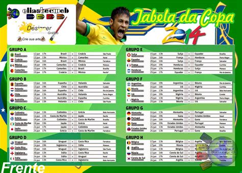 tabela da copa 2014
