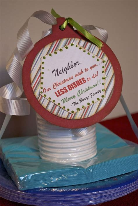 six sisters neighbor gifts 25 gift ideas for the o jays paper and dishes